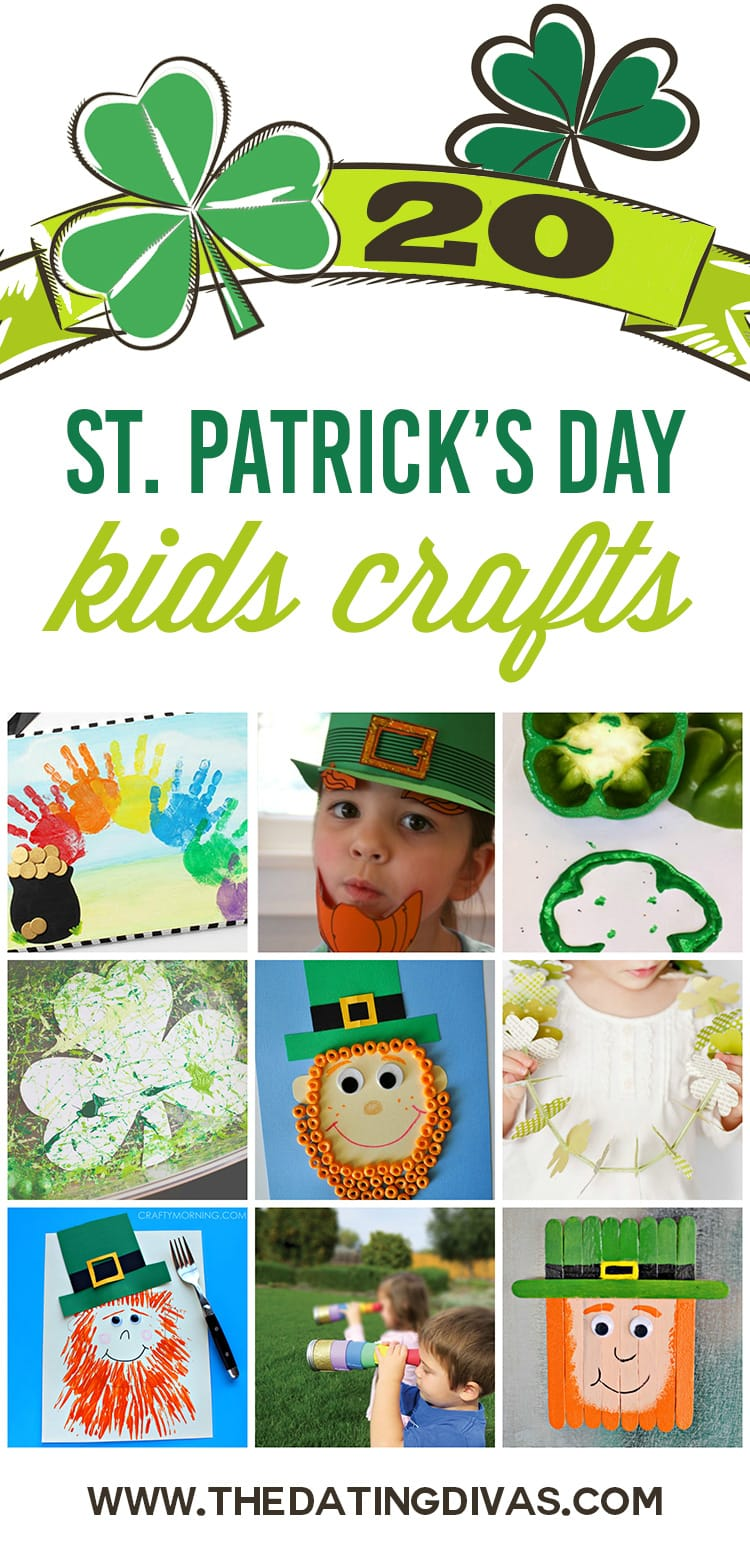 Kids Crafts - St. Patty's Day