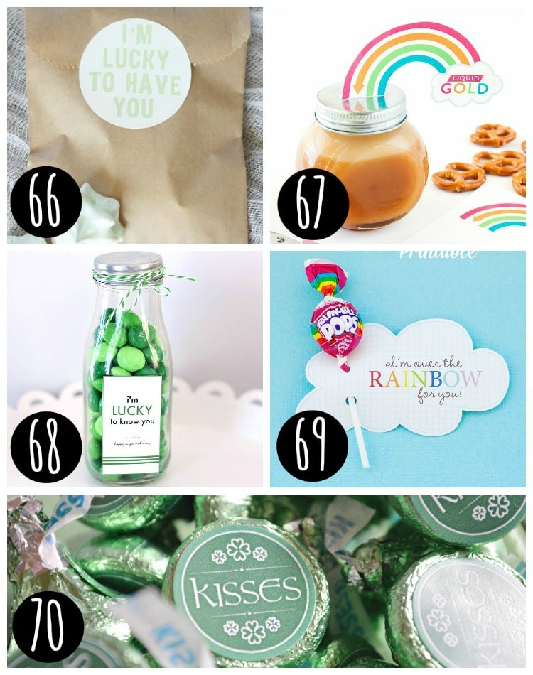 Best St. patrick's Day Treat Label ideas