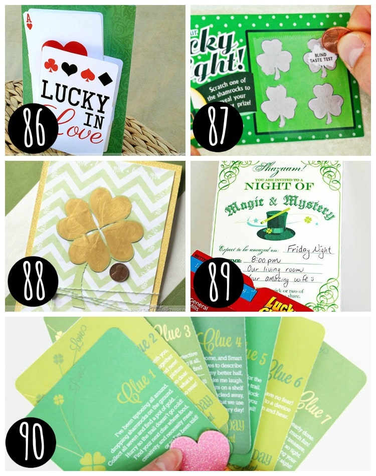 Surprises for your spouse on St. Patrick's Day!