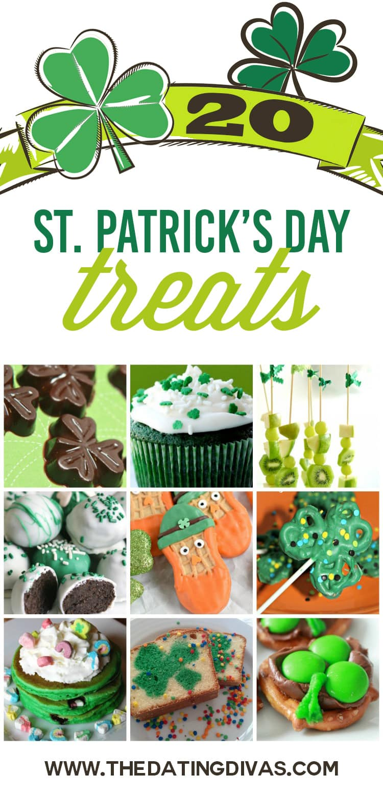 St. Patrick's Day Printable Treat Tags