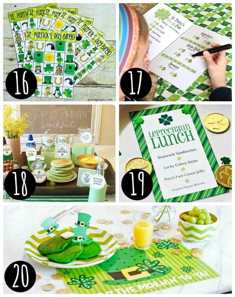 st patricks day food ideas and more photo collage