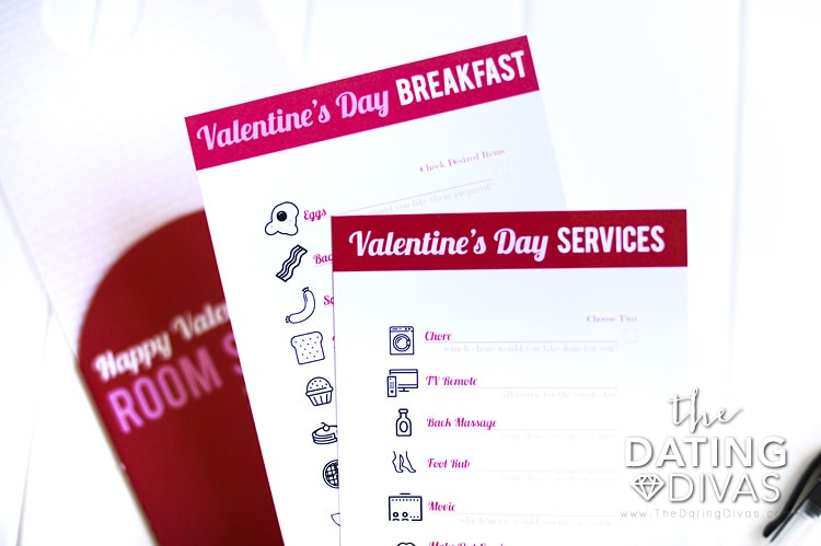 Romantic Valentine's Day Breakfast Menu