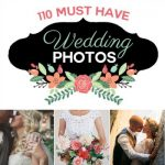 110 Must-Have Wedding Photos