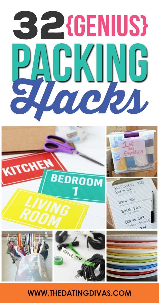 32 Genius Packing Hacks