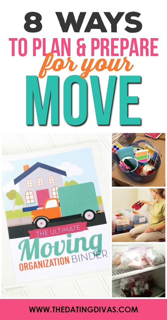 Moving tips to help you prepare for your move from The Dating Divas