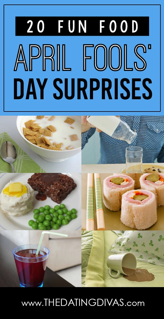 April Fools' Food Surprises