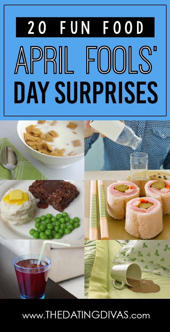 April Fools' Food Surprises