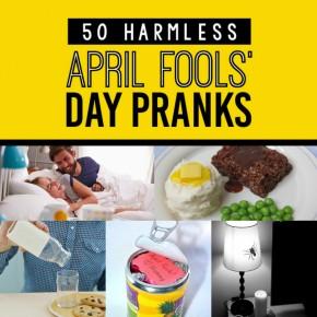 Harmless April Fools' Pranks