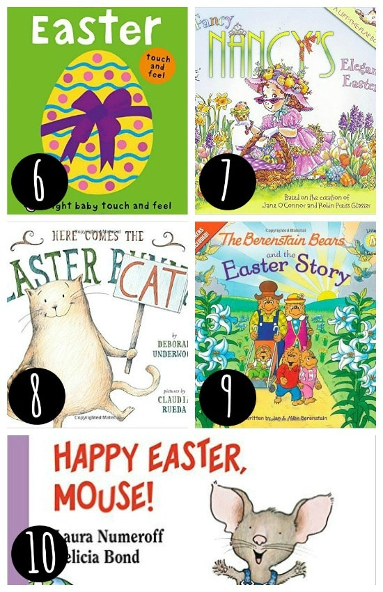 Easter Books for Every Basket