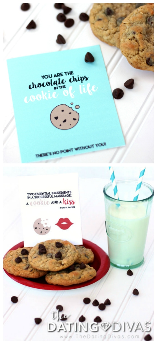 Chocolate Chip Cookie Day Love Notes