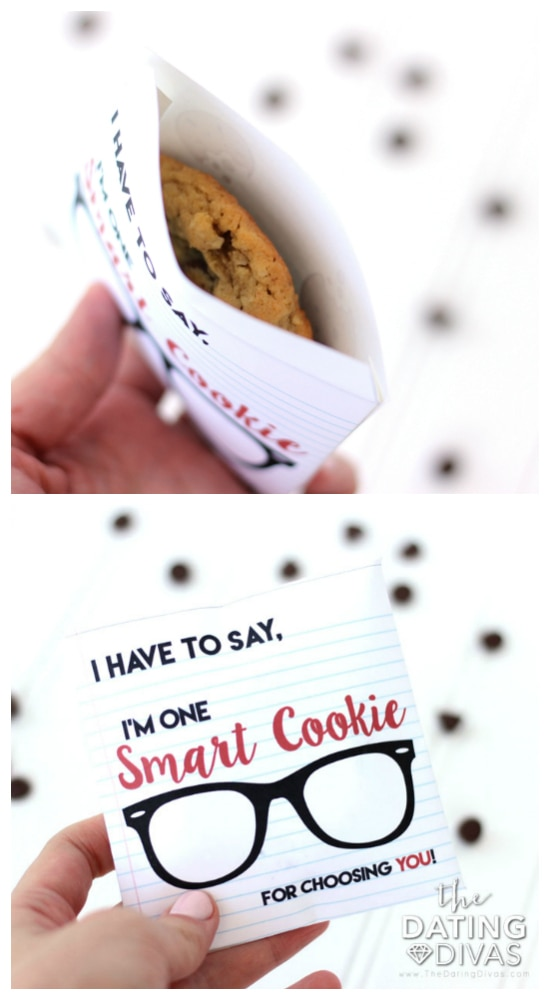 Chocolate Chip Cookie Day Cookie Envelope
