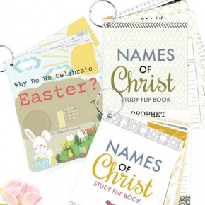 Christ-Centered Easter Flip Books