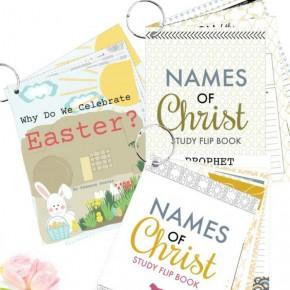 Christ-Centered Easter Flip Books