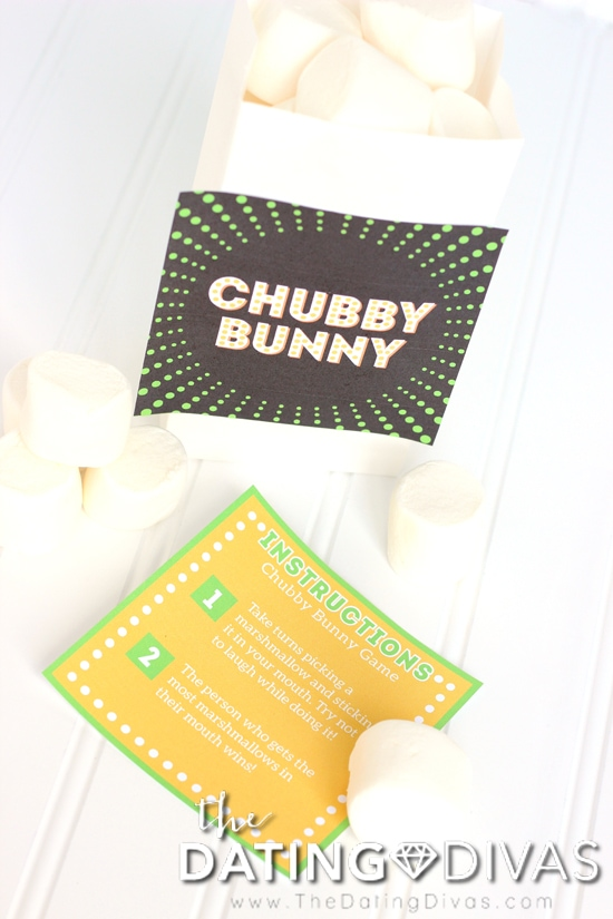 Chubby Bunny Game