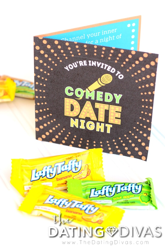 Comedy Date Night Invitation