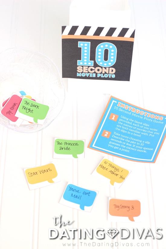 10 Second Movie Plots Game