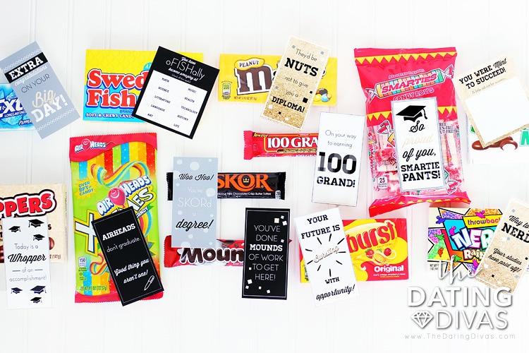 DIY Graduation Gifts Candy Bars