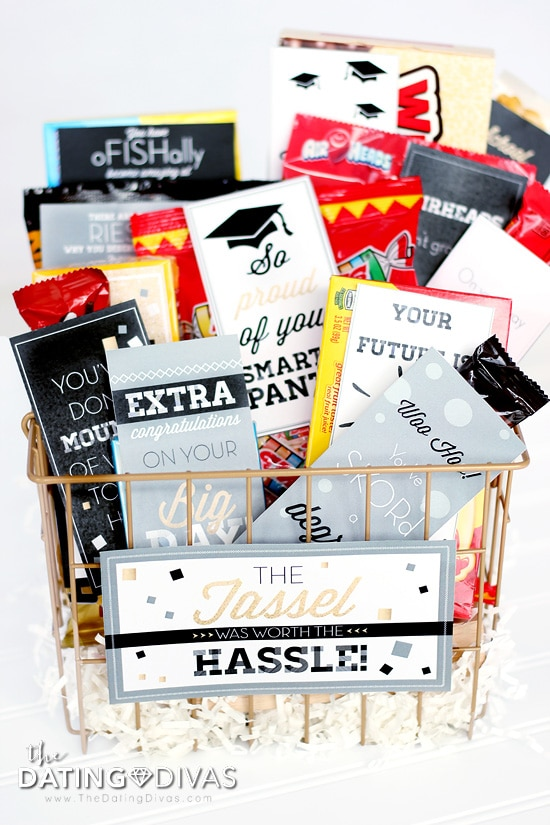 DIY Graduation Gifts Basket