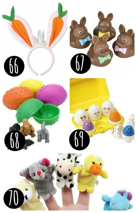 Games and toys for every Easter basket!
