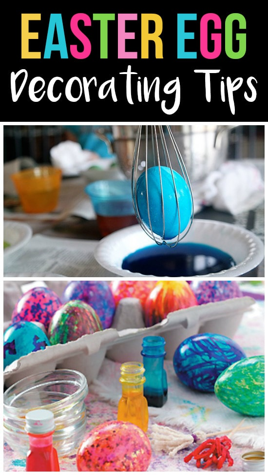 Easter Egg Decorating Tips