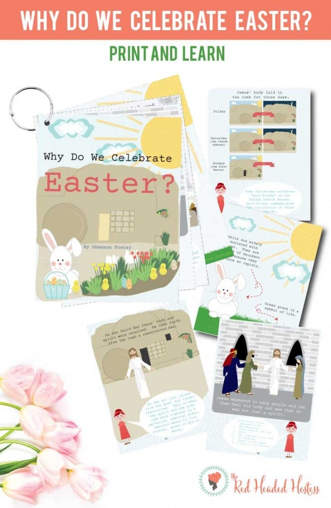 Christ-Centered Easter Flip Book