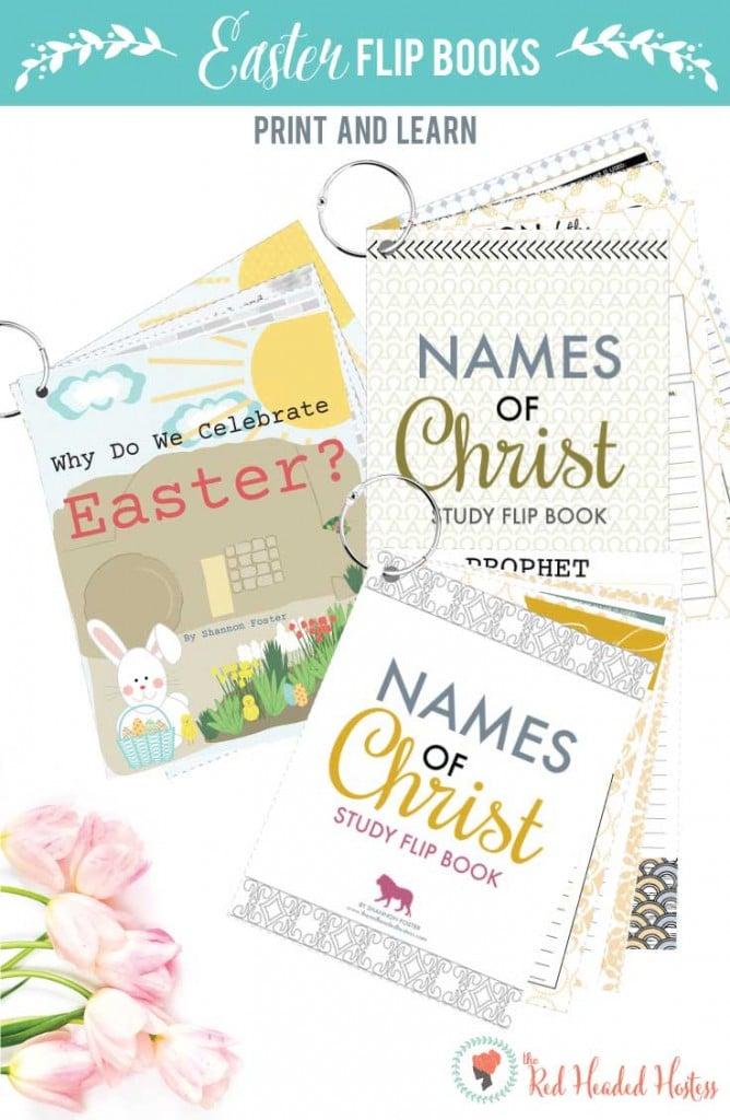 Easter Flip Books