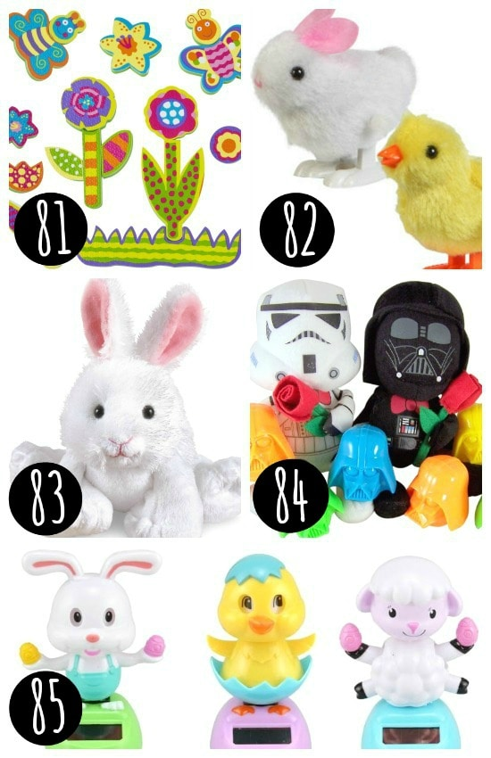 Easter Basket Ideas - Toys