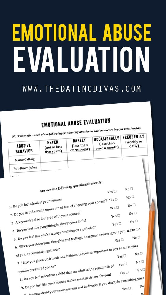 Emotional Abuse Evaluation