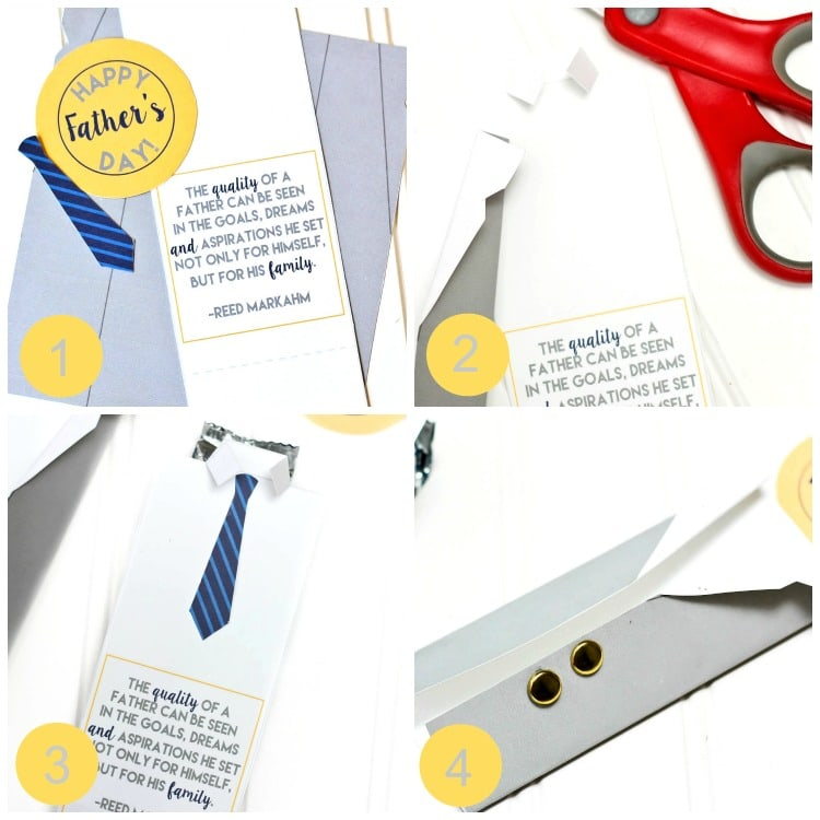 Father's Day Business Suit Candy Wrapper Printable