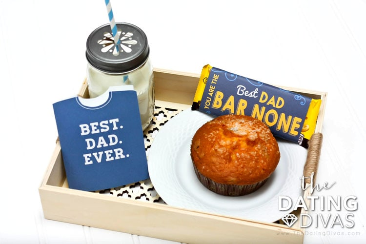 Father's Day Cards, Breakfast in Bed