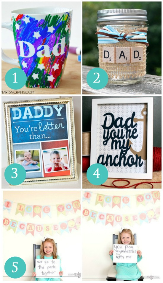 Quick and easy gift ideas for dad