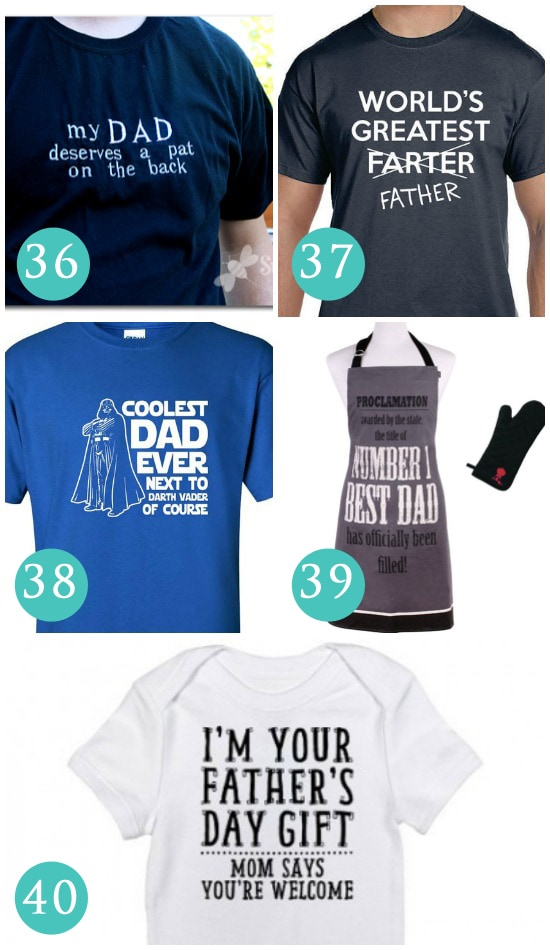 Clothing Father's Day Gift Ideas