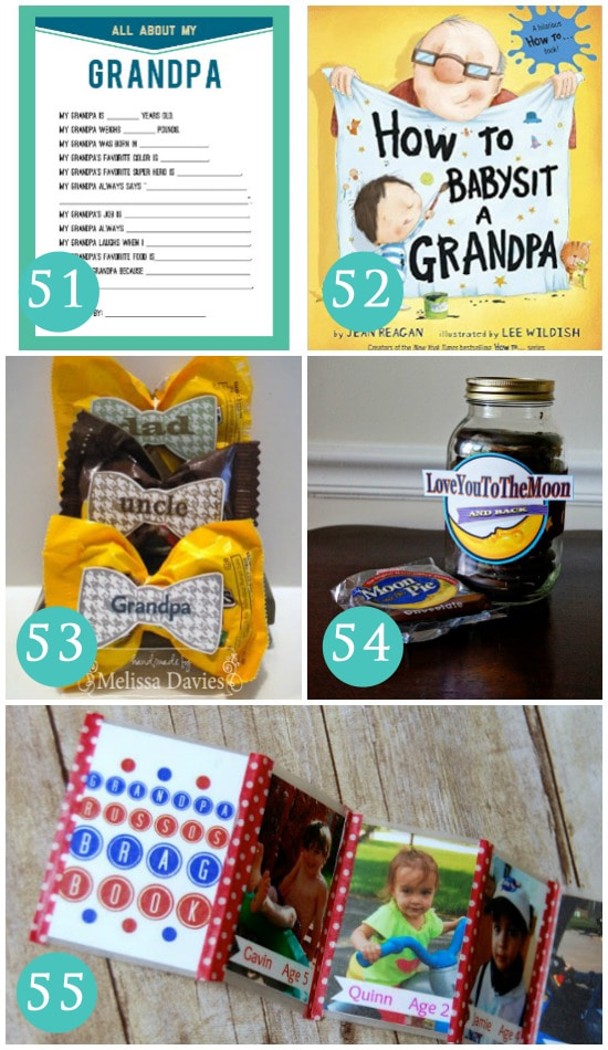 Gift Ideas for Grandfathers