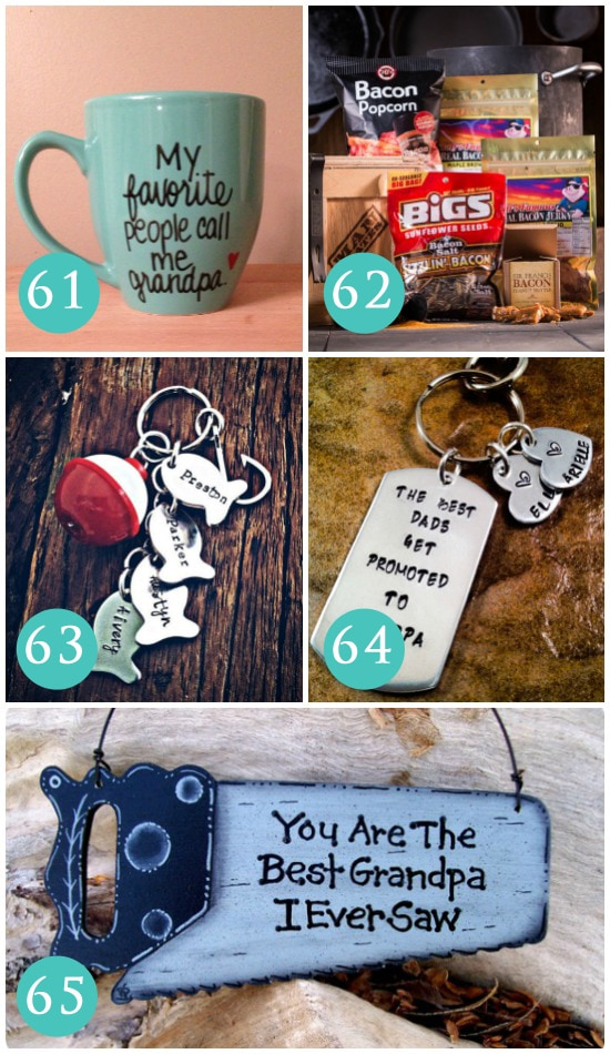Keychain Father's Day Gift Ideas for Grandpa