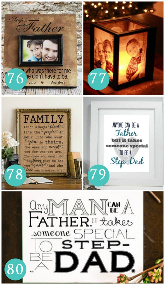 Home Decor Father's Day gift ideas for your stepdad.