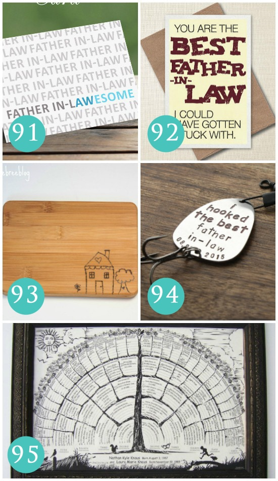 great gift ideas for fathers in law