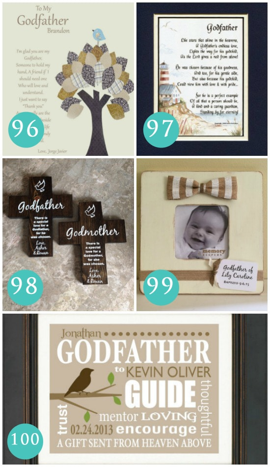 Gift Ideas for Godfathers