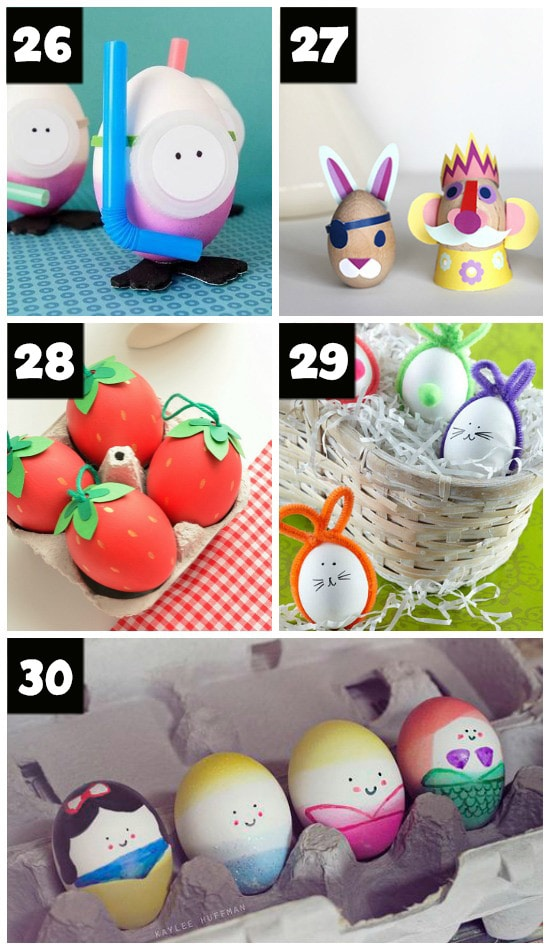 101 Easter Egg Decorating Ideas - The Dating Divas