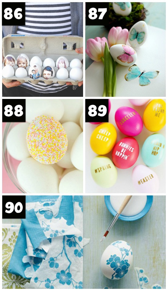 Gorgeous, Creative Easter Egg Ideas