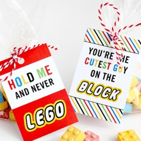 LEGO Printable treat tags