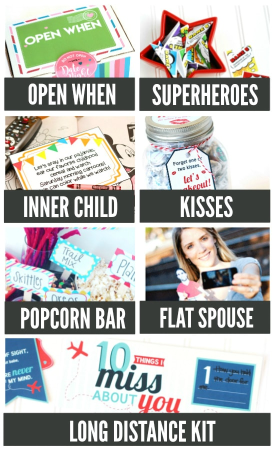Date Night Care Package Ideas