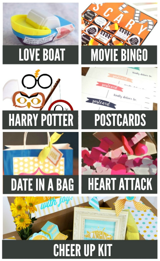 Fun Ways to Date Your Long Distance Spouse with Care Packages