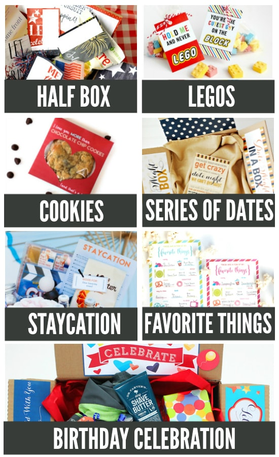 Date Nights Ideas to Send in the Mail