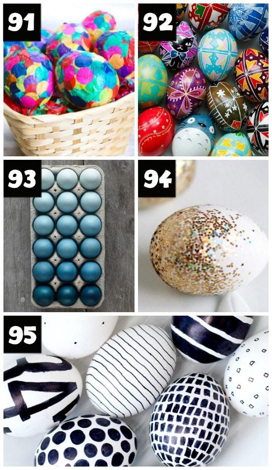Modern Easter Egg Ideas