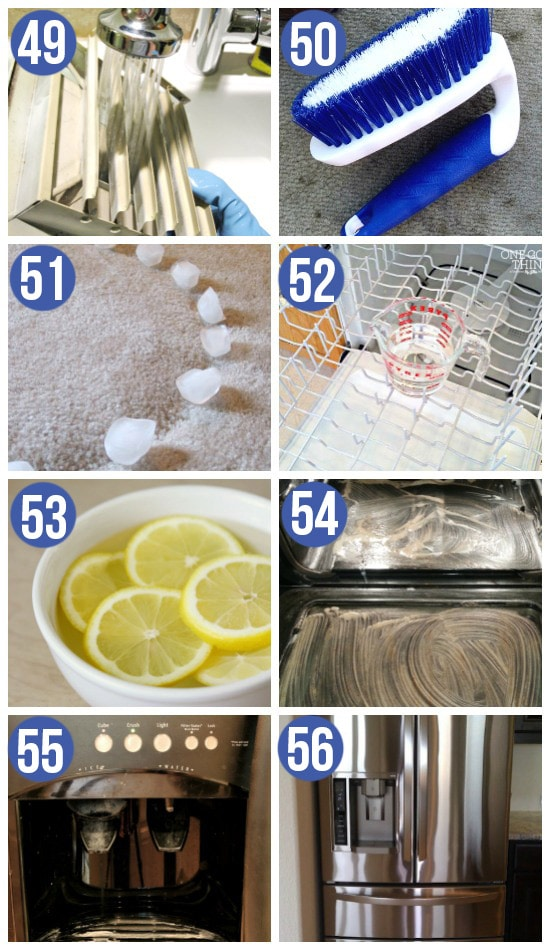 Moving Cleaning Hacks and Cleaning Recipes