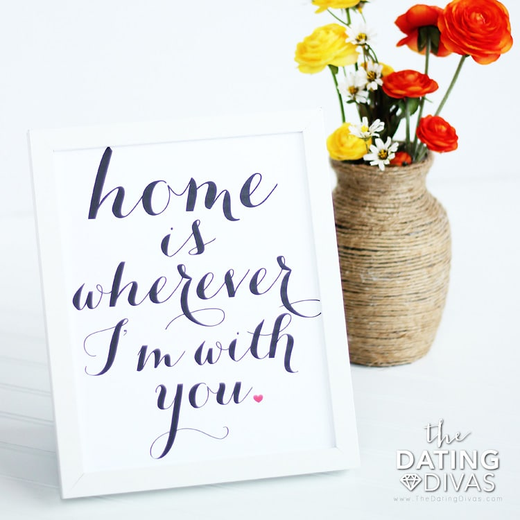 New Home Wall Printable