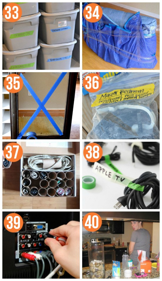 Moving and Packing Tips and Ideas