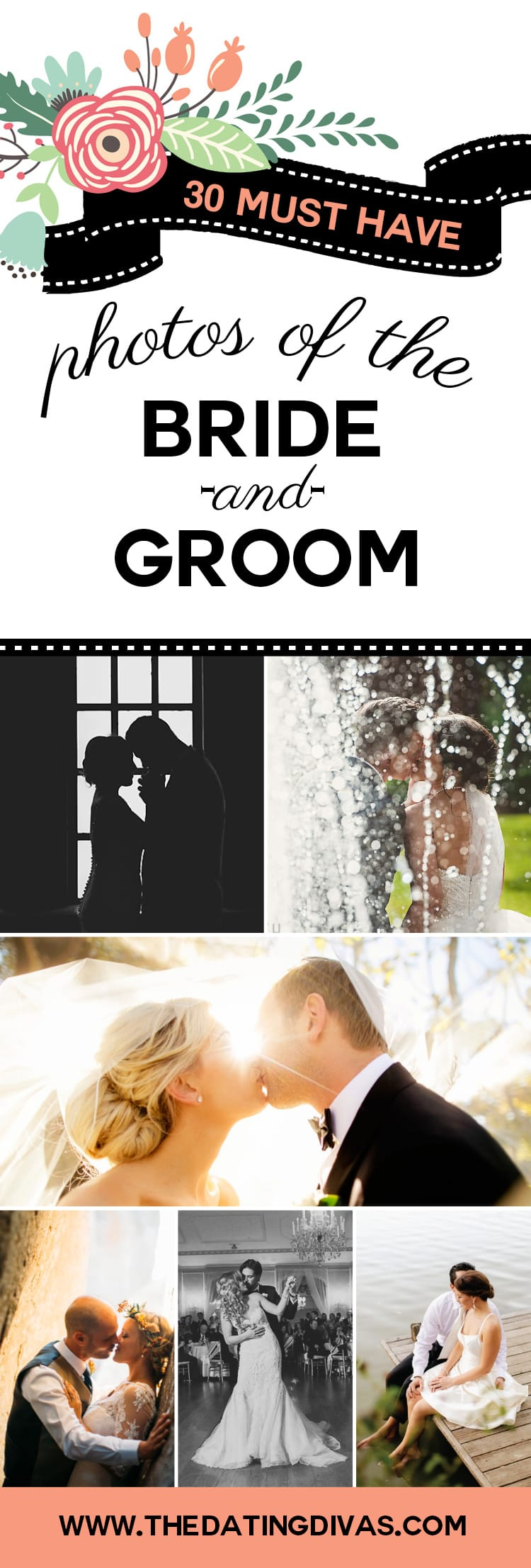 Must have Photos of the Bride and Groom