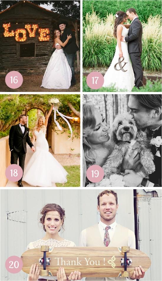 More Wedding Photo Ideas