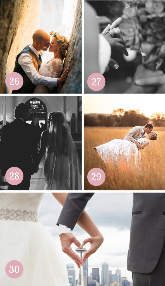 Must-Have Wedding Pictures